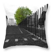 When Hope Blooms Again Throw Pillow