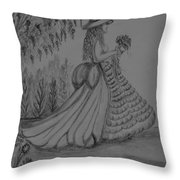 When I Am Alone Throw Pillow