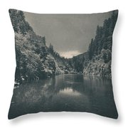 When I Felt Your Heart Beat With Mine Throw Pillow
