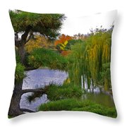 When I Was A Bird By Jrr Throw Pillow
