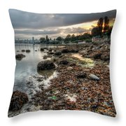 When I'm Up At Sunrise Throw Pillow