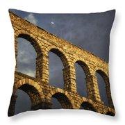 When In Segovia Throw Pillow