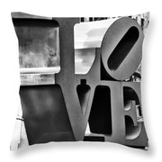 When Love Comes To Town Throw Pillow