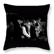 When Men Put God First Throw Pillow