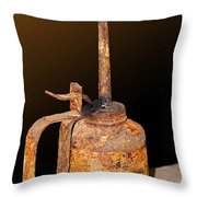 When Rust Is A Must Throw Pillow