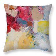 When The Angels Sing Throw Pillow