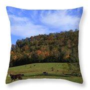 When The Cows Come Home-alabama Throw Pillow