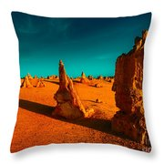 When The Day Is Done Throw Pillow