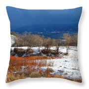 When The Sun Breaks Through The Storm Throw Pillow