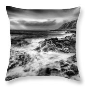 When The West Wind Blows Throw Pillow