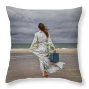 When The Wind Blows Away My Dreams Throw Pillow