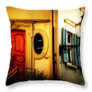 When Time Does Not Count Anymore Throw Pillow