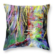 When Trees Dream Throw Pillow