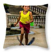 When We Were Young.. Throw Pillow
