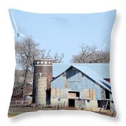When Worlds Collide Throw Pillow