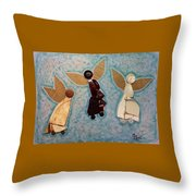 Where All Is Peace And Joy And Love Throw Pillow