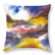 Where Angels Live Throw Pillow