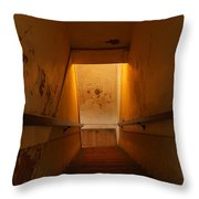 Where Billy The Kid Shot Bell Throw Pillow by Jeff Swan