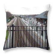 Where Do You Go From Here Throw Pillow