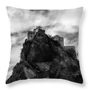 Italian Landscape - Where Dragons Fly  Throw Pillow