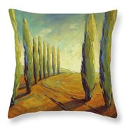 Where Evening Begins 1 Throw Pillow