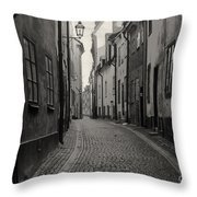 Where Have All The People Gone 3 Throw Pillow