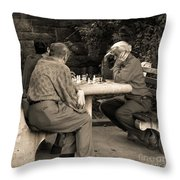 Where Is Bobby Fischer Throw Pillow by Madeline Ellis
