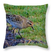 Where Is Breakfast Throw Pillow