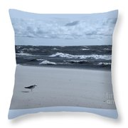 Where Is Everybody? Throw Pillow