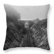 Where Is Steam Train Throw Pillow