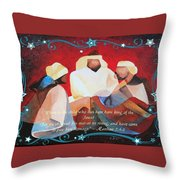 Where Is The Child Who Has Been Born King Of The Jews Throw Pillow