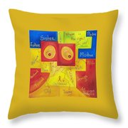 Where Is The Cure Throw Pillow
