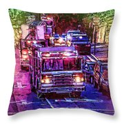 Where Is The Fire Throw Pillow