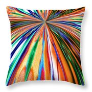 Where It All Began Abstract Throw Pillow