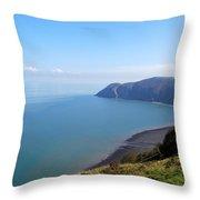 Where Land Meets Sea Throw Pillow