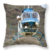 Where Must I Land? Throw Pillow