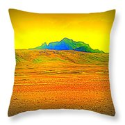 Go Far Out Where Nothing Grows, And Never Look Back   Throw Pillow
