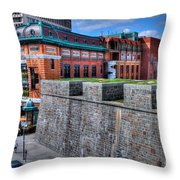 Where Old Meets New Throw Pillow