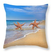 Where Stars Are Born Throw Pillow