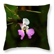 Where The Faerie Bonnets Come From Throw Pillow