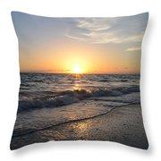 Where The Sun Sets Throw Pillow