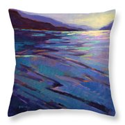 Where The Whales Play 3 Throw Pillow