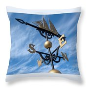 Where The Wind Blows Throw Pillow