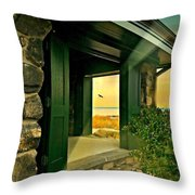 Where The World Turns Throw Pillow