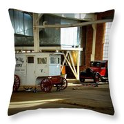 Where They Wait Throw Pillow