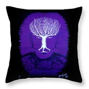 Where Wolf? Throw Pillow