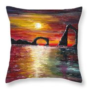 Where's My Wife? Throw Pillow
