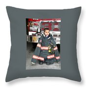 Where's The Fire? Throw Pillow