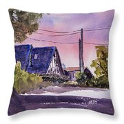 Whidbey Getaway Throw Pillow