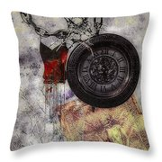 While You Were Sleeping Throw Pillow